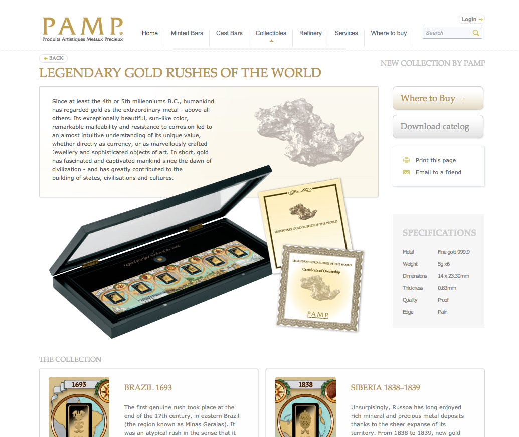 Pamp collectable